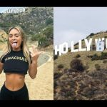 """PHOTOS: Instagram Model And 5 Others Arrested For Changing The Hollywood Sign To """"Hollyboob"""""""