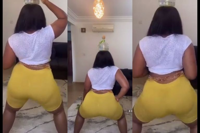 VIDEO: Abena Korkor Addo Shakes It For The Cameras Again And It's Mind-blowing