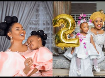 Nana Ama Mcbrown Drops Stunning Photos Of Her Daughter, Maxin, As She Turns Two Years Today