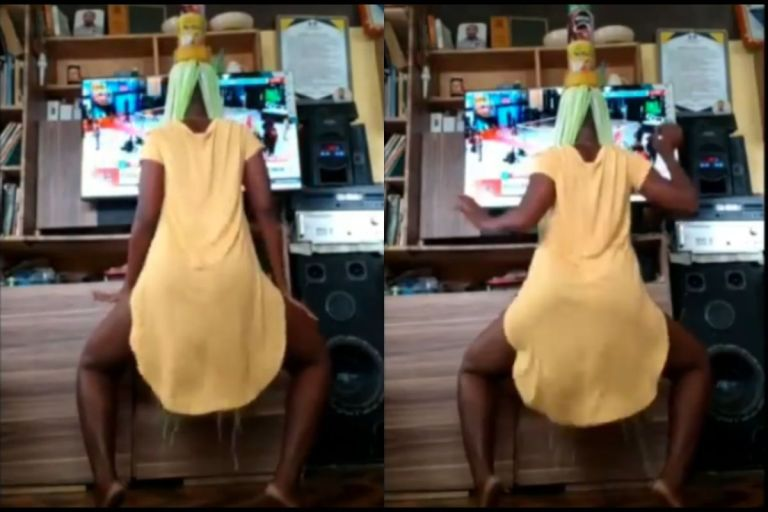 VIDEO: Slay Queen Shakes Her 'Back Assets' For The Cameras With MzVee's 'Balance' Track - This Is Crazy