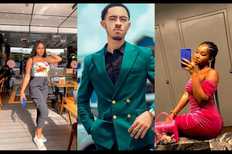 Check Out Stunning Photos Of Afia Schwar's Son's Girlfriend Who Claims To Be An Influencer