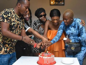 Wendy Shay's Very Low Budget 25th Birthday Party Was Attended By Just Two Famewhores And One Celebrity