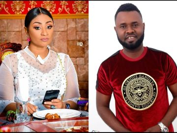 VIDEO: Actress Ellen Kyei White Says She Wishes Ernest Opoku Was Her Boyfriend - Probably Because Of His Big 'D'