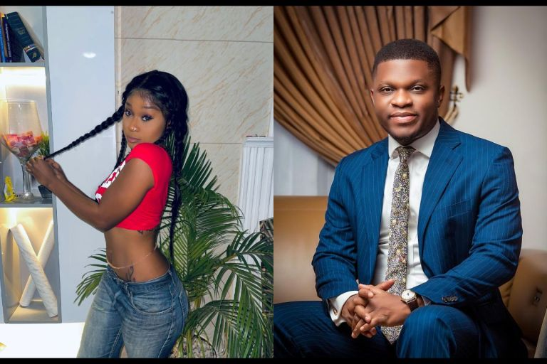 Efia Odo Gushes Over Sammy Gyamfi - But A Fan Thinks She Just Wants To Take His D***k