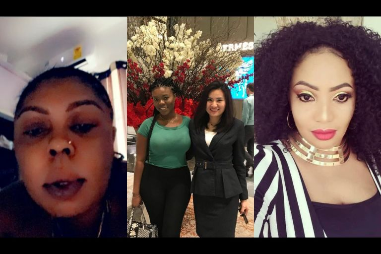 Whilst Delay Has Matured From Social Media Drama, Signing Deals And Meeting Diplomats, Grannies, Afia Schwar And Diamond Appiah Are Yet To Start Crawling In Maturity