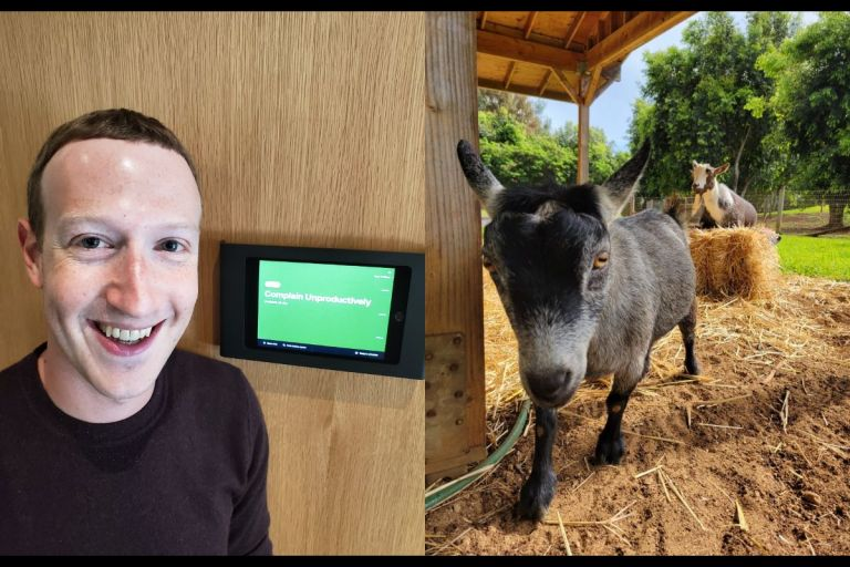 Facebook CEO, Mark Zuckerberg, Names His Goat Bitcoin