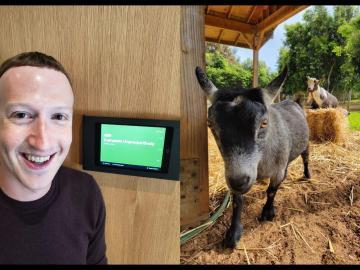 Facebook CEO, Mark Zuckerberg, Names His Goat Bitcoin