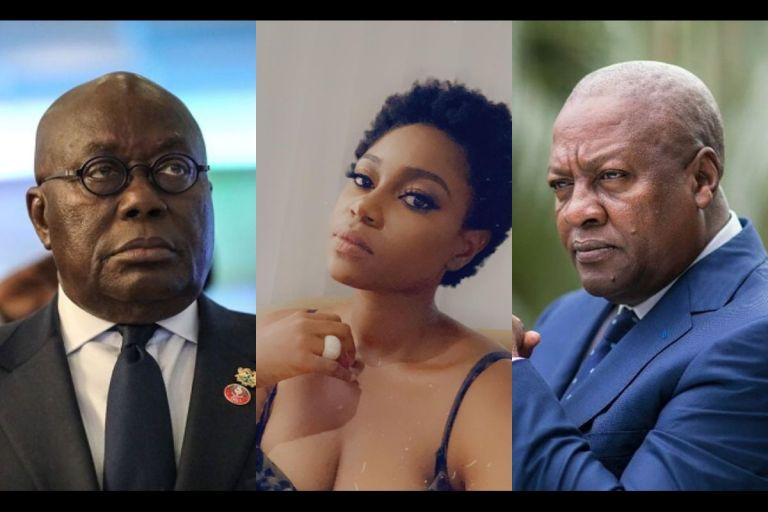 VIDEO: Our Development Money Is Either In Their Stomachs Or Fat Bank Accounts - Yvonne Nelson Throws Shots At Ghanaian Politicians