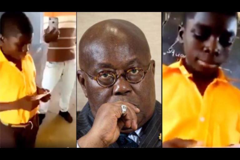 """I Will Not Promise And Fail Like President Akufo-Addo"" - Aspiring School Prefect Jabs Akufo-Addo In Manifesto Speech"