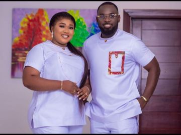 VIDEO: Xandy Kamel And Her Husband Are Throwing A Lavish Party To Celebrate One Year Marriage Anniversary