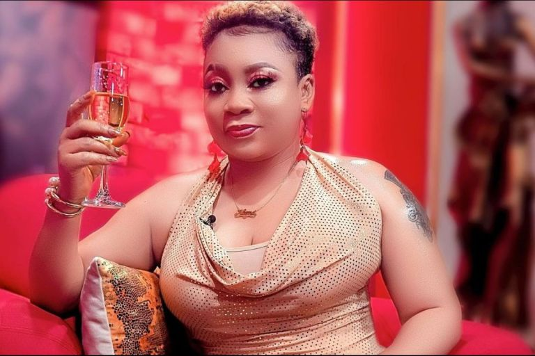VIDEO: Vicky Zugah Claims People Are Accusing Her Of Going Under The Knife To Make Her Breasts Firm
