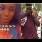 """VIDEO: """"I Miss You, Please Come Back"""" - Girlfriend Of Policeman Killed In Bullion Van Robbery Weeps"""