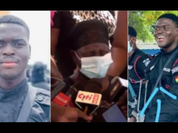 VIDEO: Mother Of The Slain Bullion Van Police Officer Breaks Down In Tears