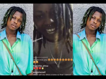 VIDEO: OV Looking Sick, Unkempt And Almost Unrecognizable After Parting Ways With Stonebwoy's Record Label
