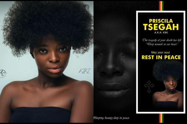 Sad As Beautiful Gh Media Student, Priscilla Tsegah, Who Got Missing Found Dead