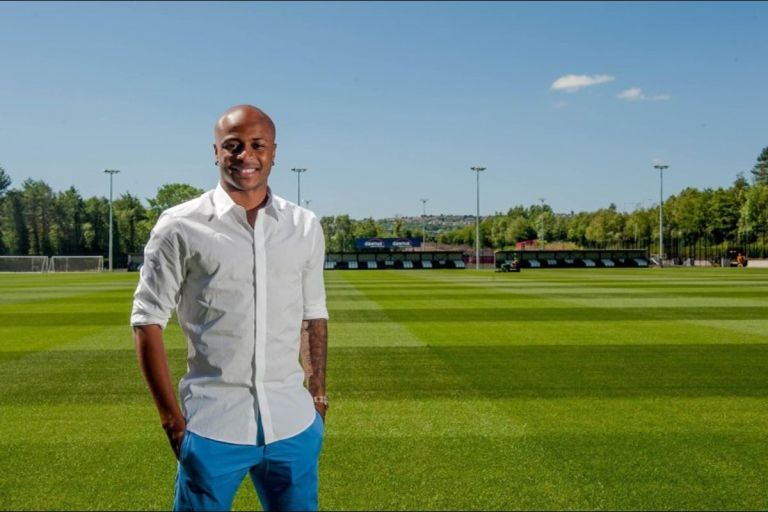Swansea City Confirms The Departure Of Black Stars Captain, Andre Ayew