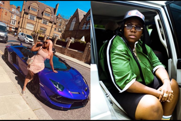 """""""You Don't Have Problem In Life"""" - Singer Teni Tells DJ Cuppy After Flaunting Her Ferrari"""
