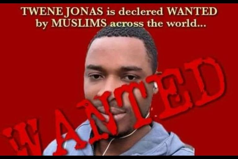 VIDEO: Twene Jonas Declared Wanted By Muslims For Disrespecting Prophet Mohammed And The Islamic Religion