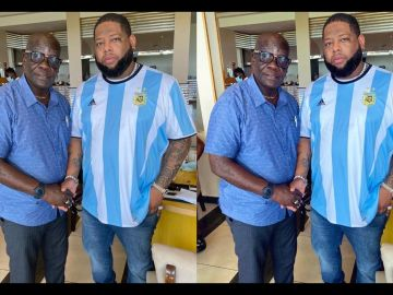 PHOTOS: Rapper DBlack Meets Castro's Father After He Was Officially Declared Dead