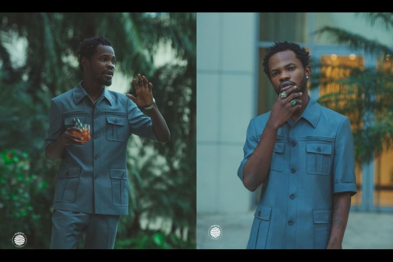 PHOTOS: Fameye Gets Rid Of His Dreadlocks, Gets A Make-over And Outdoors A New Name After Meeting With Wizkid