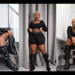 """""""Kurasinii Straight From The Factory"""" - Diamond Appiah Shades Fella Makafui For Slaying In Winter Boots In Ghana's Hot Weather"""