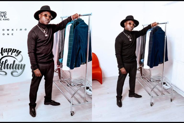 Kumasi Rapper, Flowking Stone, Drops Swagless Photos Of Himself To Celebrate His Birthday