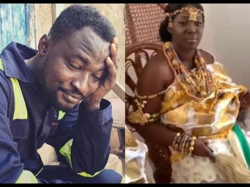 Funny Face Congratulates His Ex-wife, Nana Adwoa, For Tying The Knot With A Man Who Probably Goes Beyond '2 Minutes' In Bed