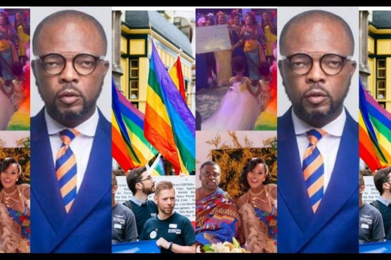 KOD Comments On 'LGBTQ Colours' For Rev Sam Korankye Ankrah's Daughter's Marriage Ceremony