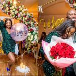 Nollywood Actress Ini Dima-Okojie Gets Engaged To A Man She Met On Instagram - Here's How It All Started