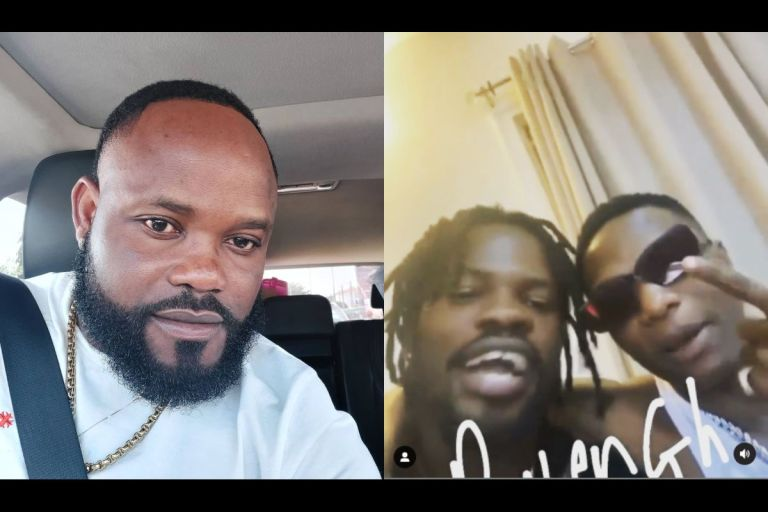 Fameye Completely Ignores Prayetietia's Tag And Comment On A Viral Video Of Him Partying With Wizkid