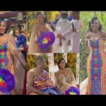 VIDEOS: Reverend Sam Korankye Ankrah's Daughter Ties The Knot With Her Husband In A Lavish Ceremony