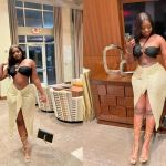 """""""Behind Every Successful Woman Is Herself"""" - Princess Shyngle Says As She Puts Her Tapoli Waist On Display"""