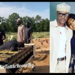 VIDEO: Sad As Sound Sultan's Wife, Farida, Lies On His Coffin As He Is Being Laid To Rest In New Jersey