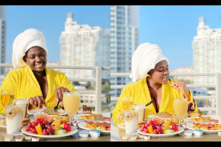 VIDEOS: Tracey Boakye Lands In Miami For A Baecation - Behaves Like A Typical Village Girl Who Just Traveled To Accra For The First Time