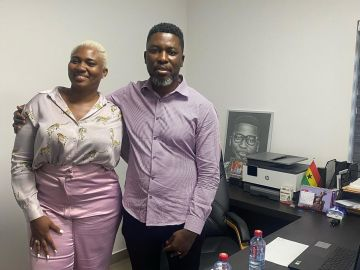 VIDEO: Abena Korkor aka 'National Cake' Meets Kwame A-Plus To Make Peace With Him After Dragging Each Other On Instagram