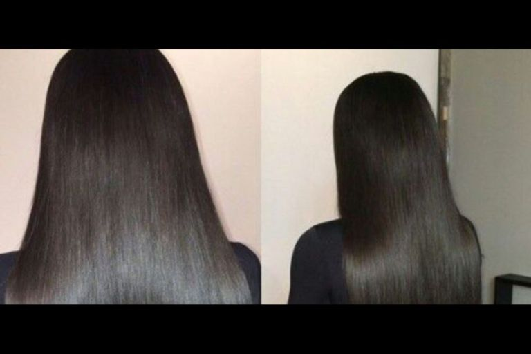 """""""Hair Is An Investment"""" - Nigerian Lady Says After Buying Bone Straight Hair With Money Her Boyfriend Gave To Her To Start A Business"""