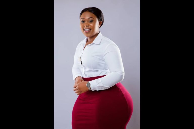 Aspiring General Secretary Of SRC Of University of Ghana, Miss Rebecca Mwinviel Derry, Causes A Stir With Her 'Tundra' B*tts On Twitter