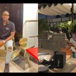 Osei Kwame Despite's Son, Saa Hene, Flaunts His Girlfriend Following Rumours That He's Dating Gyakie