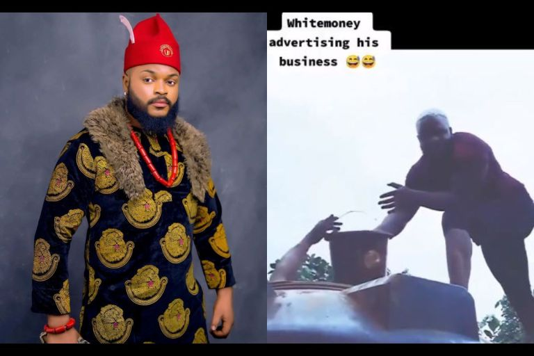 #BBNaija21: Fans Commend White Money For Being A Hardworking Man After A Throwback Video Of Him Working As A Plumber Popped Up