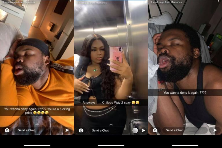 Side chic Posts Photos Of Her Married Lover As Proof That They Had S*x In Her House After He Denied Their Affair To His Wife