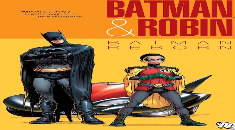 Batman & Robin Batman Reborn