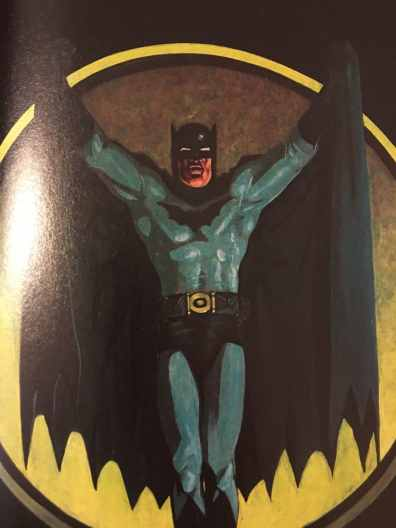 Batman Faces Full Page