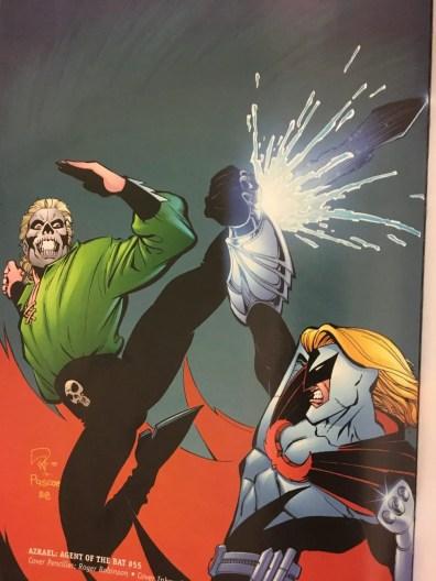 Azrael agent of the bat #55 cover