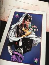 Batgirl Joker Card