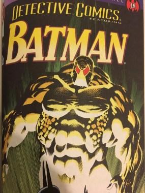 Detective Comics Bane Cover Knightfall