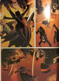Batgirl Kicking Ass War Games Book 2