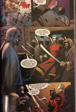 Batman Vs Ras al Ghul Private Casebook