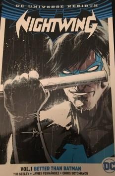 Nightwing Volume 1 Better than Batman Cover