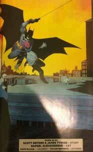 Zero Year Batman Original Cover Remade