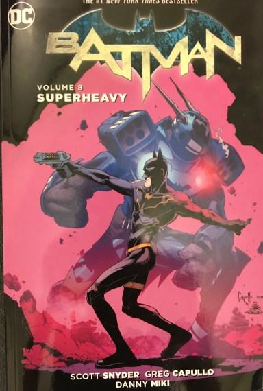 Batman Volume 8 Superheavy Cover